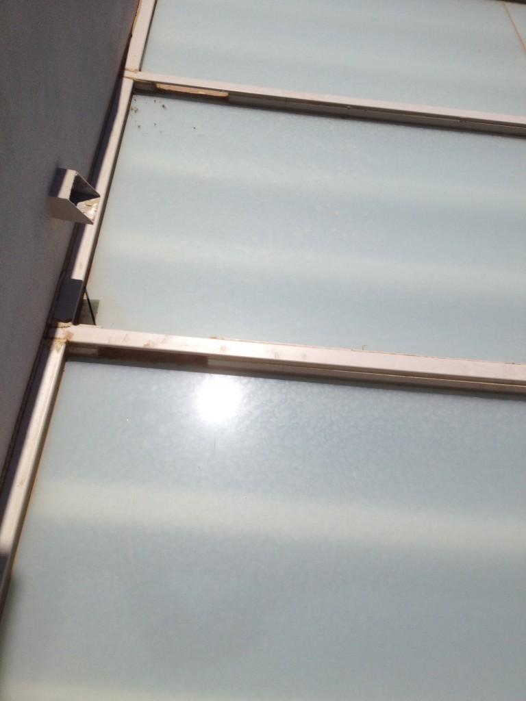 Techos con vidrios