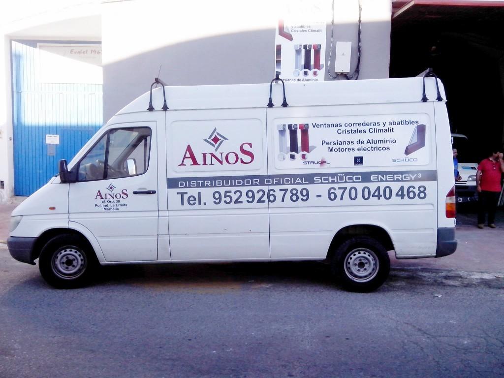 Localización de Ainos
