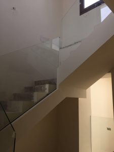 Barandilla de vidrio